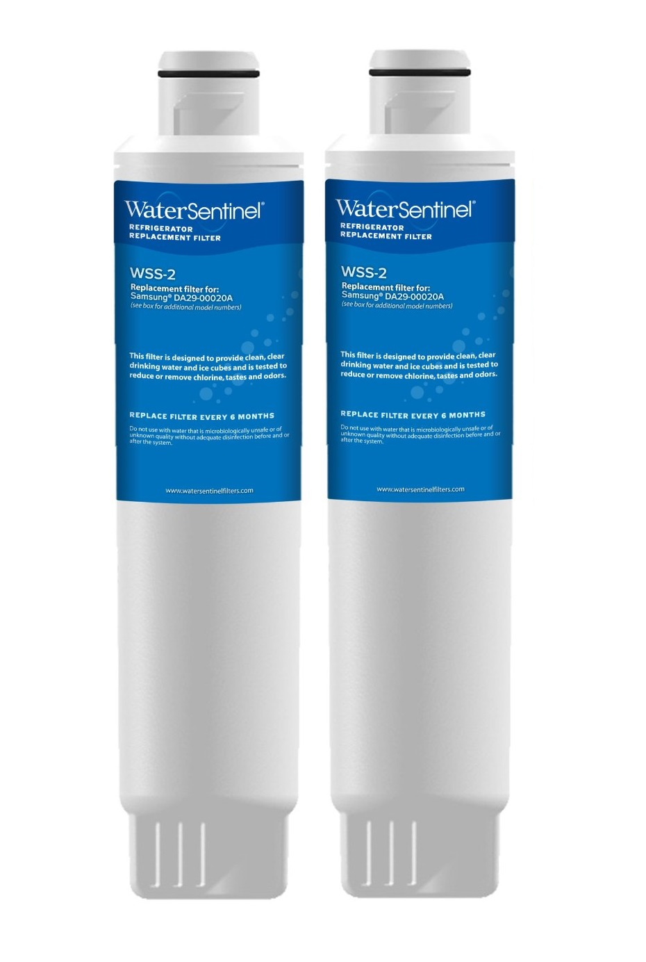 WSS-2 Water Sentinel Refrigerator Water Filter (2-Pack)