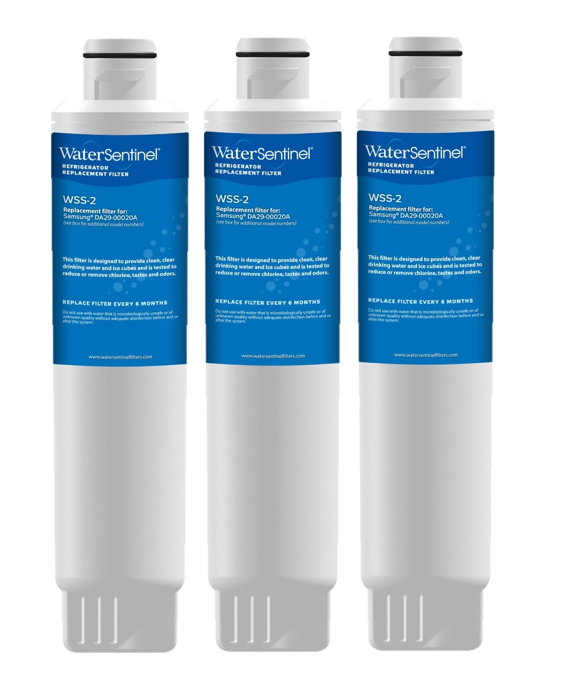 WSS-2 Water Sentinel Refrigerator Water Filter (3-Pack)