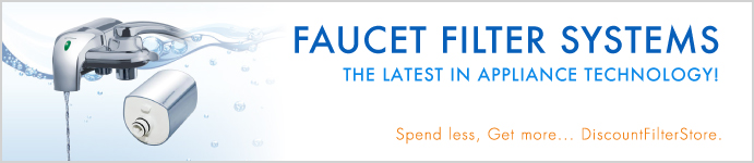 Faucet Filter Systems by DiscountFilterStore.com