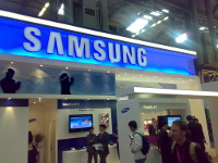 Samsung Booth In Barcelona